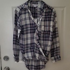 Loveriche Long Sleeve Button Down
